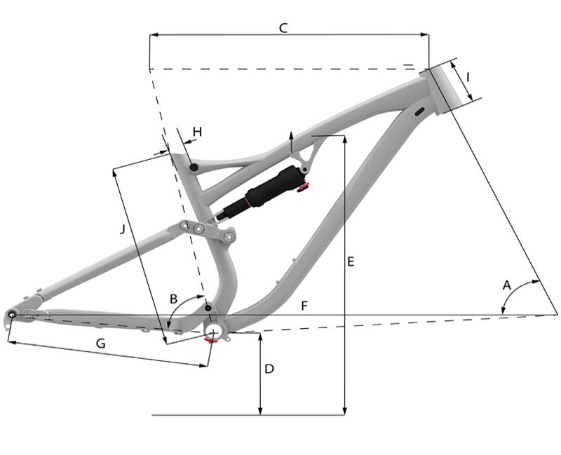 Whyte G170-C RS 29er Geometry Chart