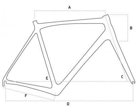 Orro Terra Gravel Geometry Chart
