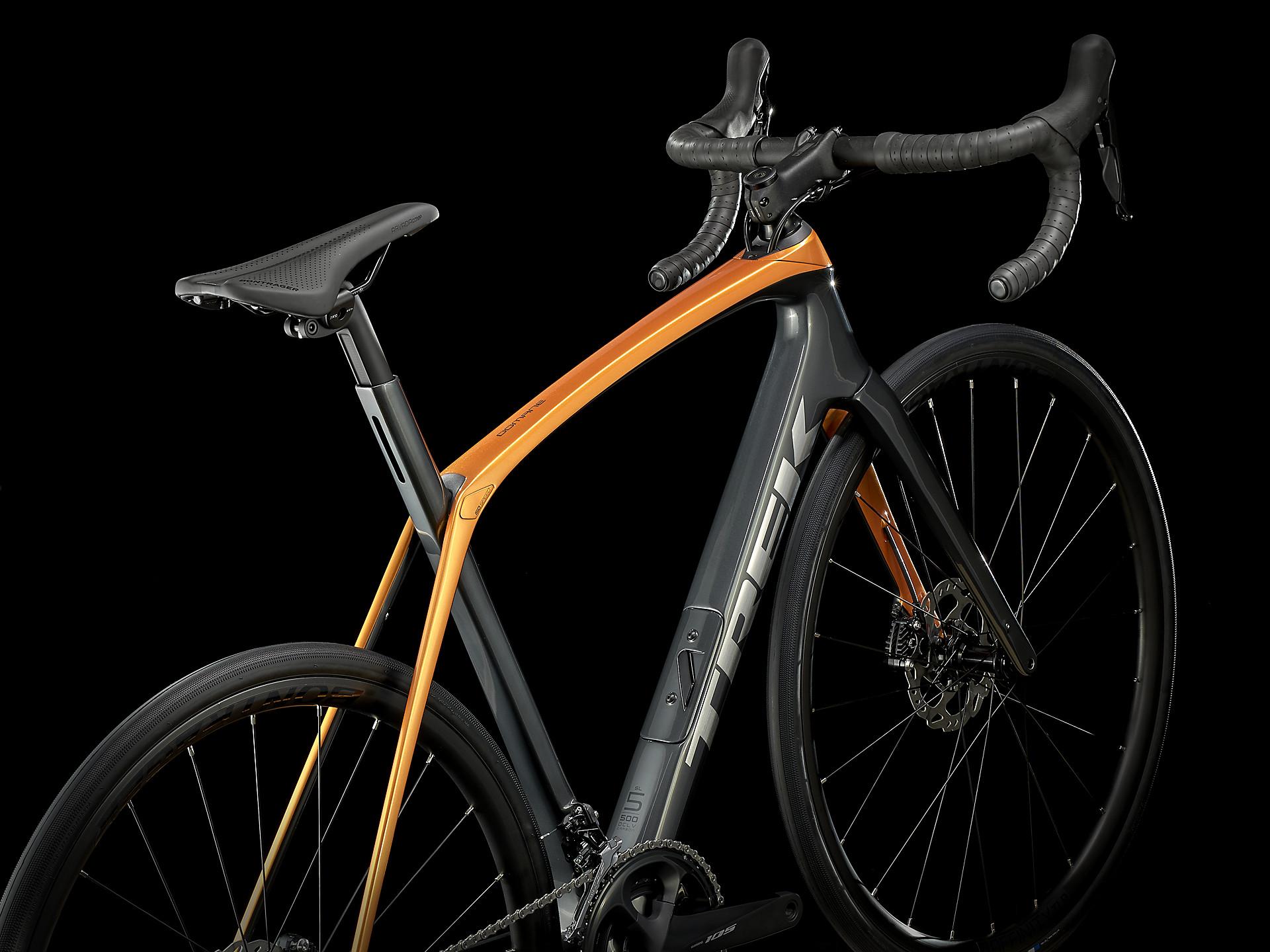 Trek Domane Sl 5 Disc Carbon Road Bike 2021 In Grey