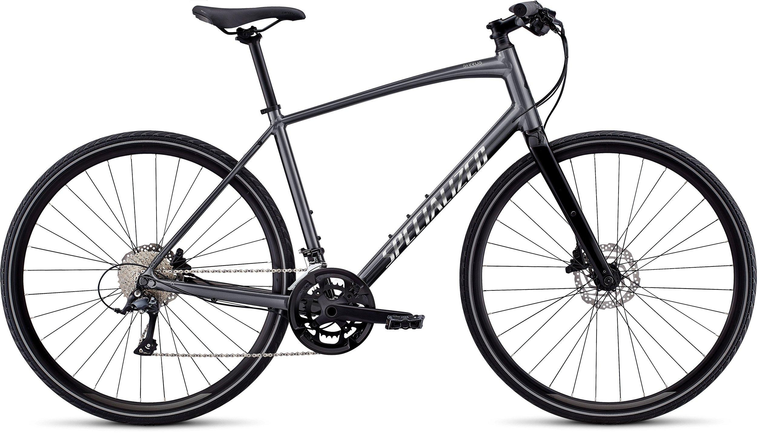 Specialized Sirrus Sport Alloy Disc Mens Hybrid Bike 2019 in Grey
