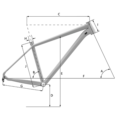 Whyte 603 Geometry Chart